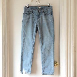 Eileen Fisher slim straight boyfriend ankle jeans